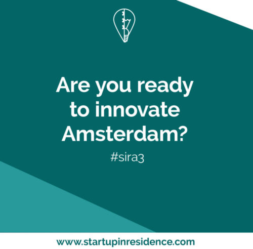 Startup in Residence challenges startups to innovate